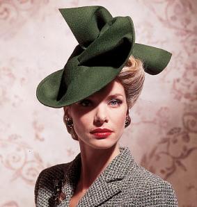 Smashing vintage style hat